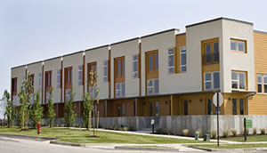 New modern style townhomes by Garbett