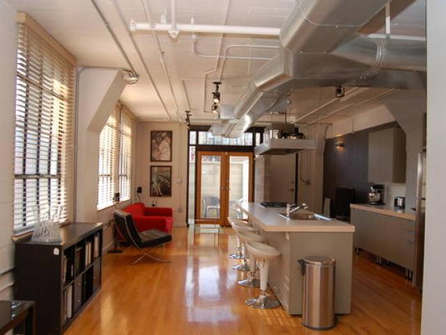 Broadway Lofts Kitchen