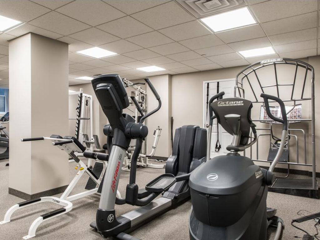 Workout Room/Gym in Meridien Condos
