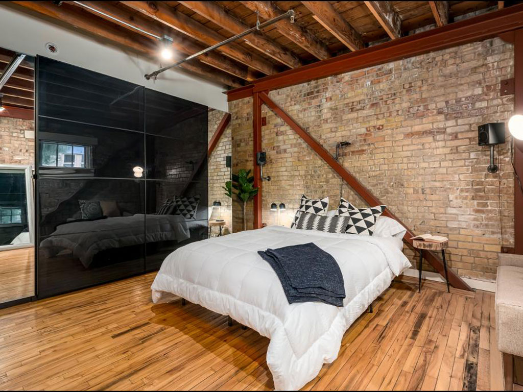 Pierpont Lofts Exposed Brickwork