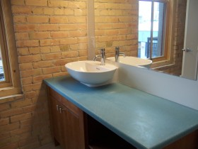 Westgate Lofts Example Bathromm