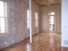 Westgate Lofts Example of Exposed Brickwork